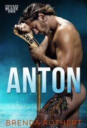 Anton cover (naked guy with hockey stick and leg tattoo)