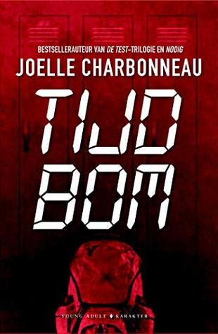 Tijdbom (EN: Timebomb) Boek omslag