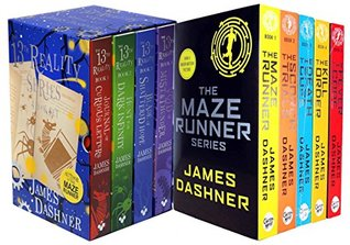 James Dashner 9 Books Collection Set (Maze Runner, 13th Reality)