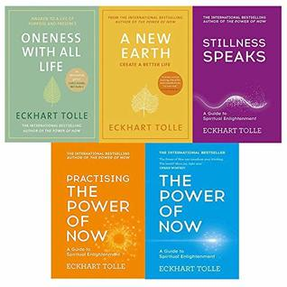 Eckhart tolle the power of now collection 5 books set (the power of now, practising the power of now, stillness speaks, a new earth, oneness with all life [hardcover])