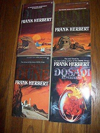Frank Herbert Dune Series: 4 Volumes Set