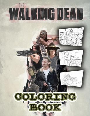 The Walking Dead Coloring Book: 50 Coloring Pages from Season 8 Part II