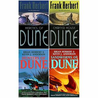 Dune Series 5 to 8 Book : 4 Books Collection Set