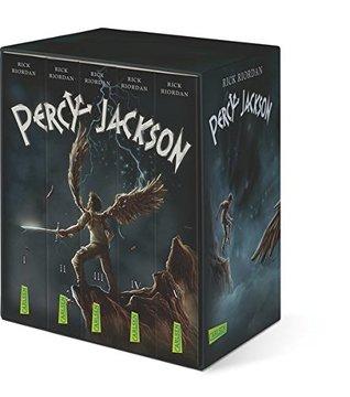 Percy-Jackson-Taschenbuchschuber: Alle fünf Bände im Schuber