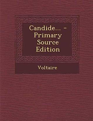Candide... - Primary Source Edition