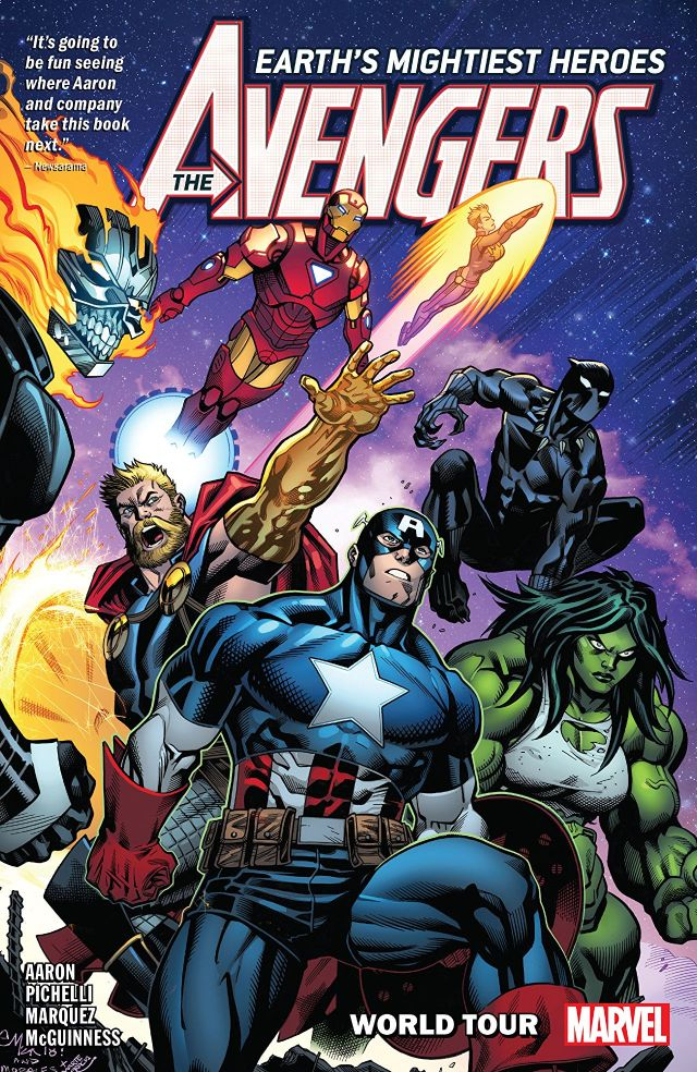 Avengers by Jason Aaron, Vol. 2: World Tour