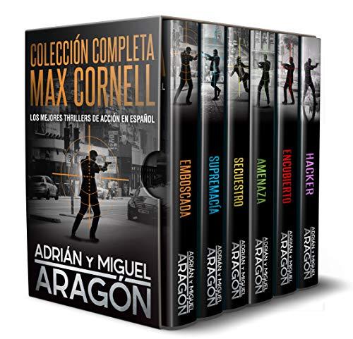 Colección Completa Max Cornell: Los mejores thrillers de acción en español