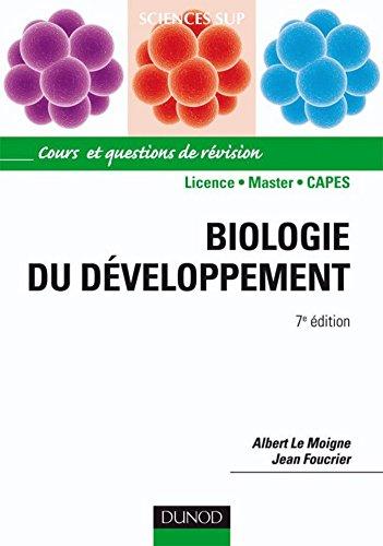 Biologie du développement - 7e édition : Cours et questions de révision
