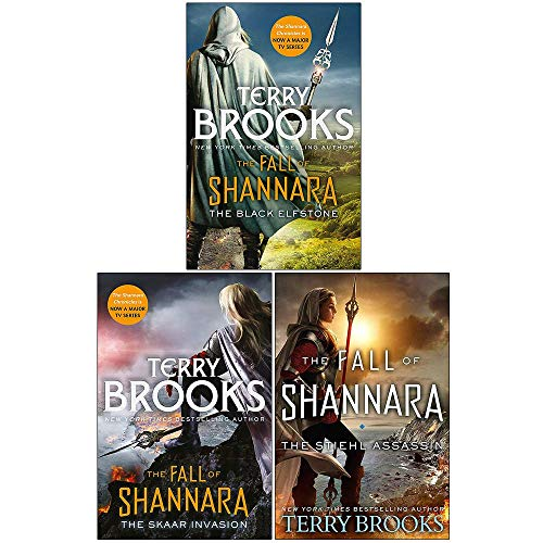 Terry Brooks Fall of Shannara Series 3 Books Collection Set