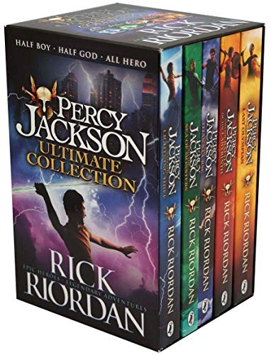 Percy Jackson & the Olympians 5 Children Book Collection Box Set