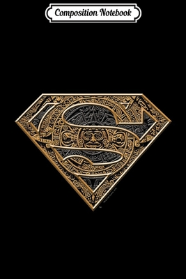 Composition Notebook: Superman Aztec Shield Journal/Notebook Blank Lined Ruled 6x9 100 Pages