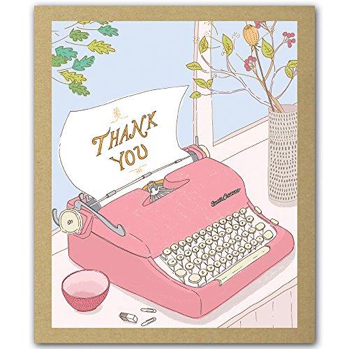 Thank You Cards / Typewriter GreenThanks / teNeues