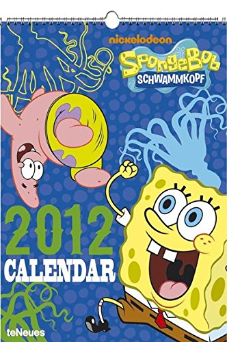 2012 Sponge Bob 29.7 x 42 Calendar