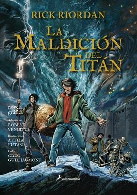 Percy Jackson 03. La Maldicion del Titan (Novela Grafica)