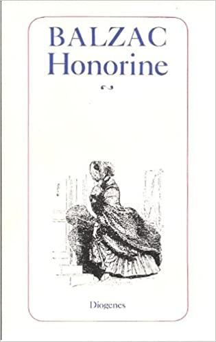 Honorine. Erzählungen