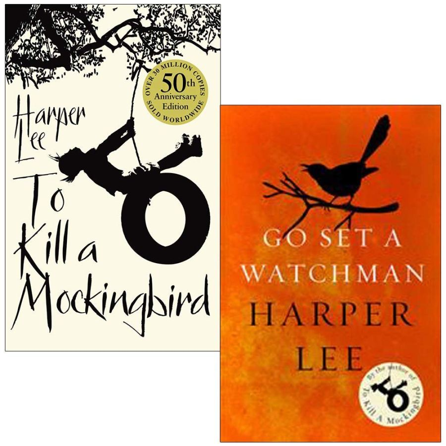 Harper Lee Collection 2 Books Set
