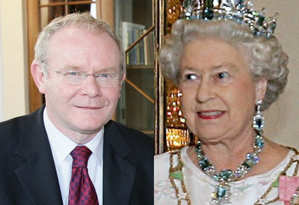 Martin McGuinness and The Queen