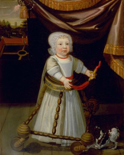 A Boy with Coral (around 1670) by an anonymous English artist © Norfolk Museums Services, Strangers' Hall