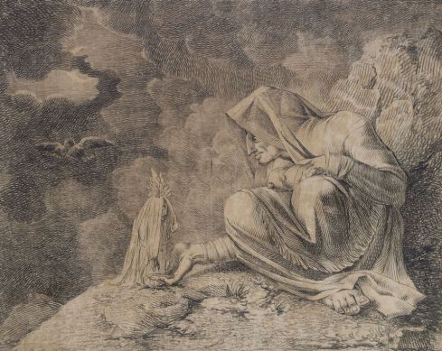 Henry Fuseli's The Witch and the Mandrake (around 1812) © Pitt Rivers Museum, University of Oxford