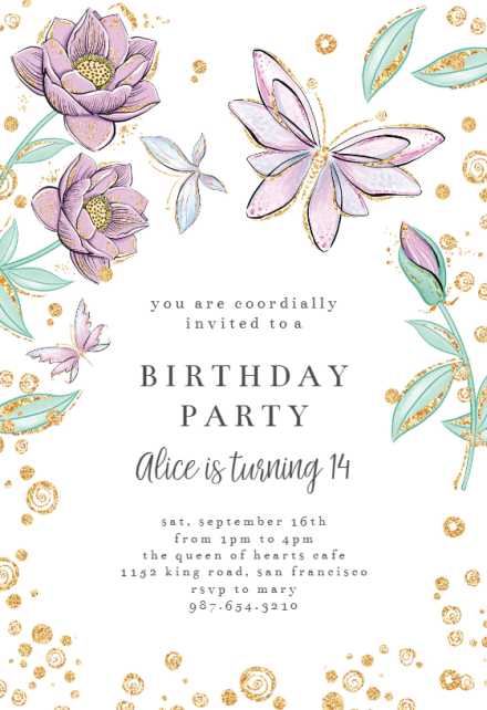 invitation templates free greetings