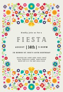 Fl Fiesta Party Invitation