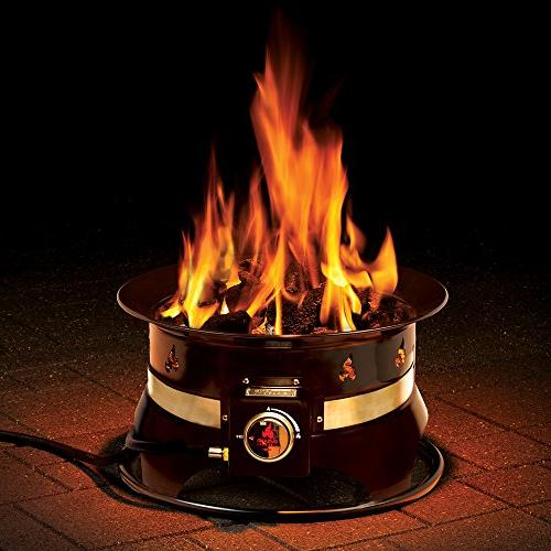 Outland Firebowl 870 Premium Outdoor Portable Propane Gas on Outland Gas Fire Pit id=38453