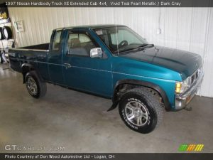 Zone Manual: 1997 Nissan Truck Manual Transmission
