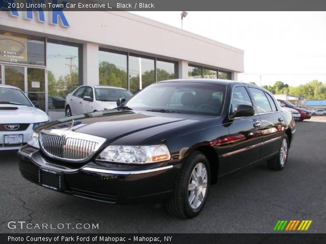 2010 Lincoln Town Car Presidential