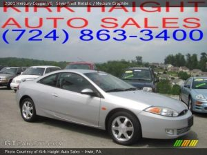 2001 Mercury Cougar V6 related infomation,specifications