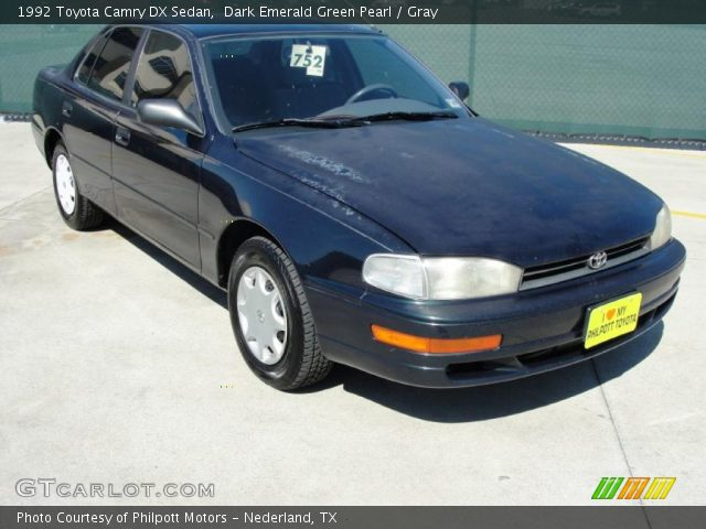 92 Toyota Camry Green Pearl