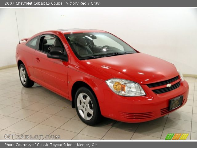 Cobalt 2009 Red Coupe Chevy