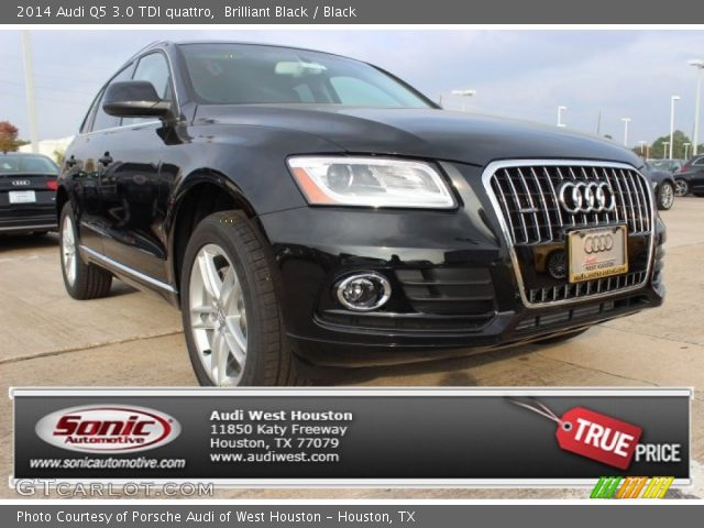 Brilliant Black 2014 Audi Q5 30 TDI Quattro Black