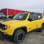 2016 Solar Yellow Jeep Renegade Trailhawk 4x4 110147091 Gtcarlot Com Car Color Galleries