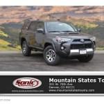 2017 Magnetic Gray Metallic Toyota 4runner Trd Off Road Premium 4x4 119408026 Gtcarlot Com Car Color Galleries