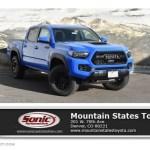 2019 Voodoo Blue Toyota Tacoma Trd Pro Double Cab 4x4 131761058 Gtcarlot Com Car Color Galleries