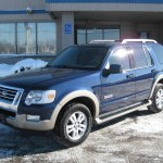 2007 Dark Blue Pearl Metallic Ford Explorer Eddie Bauer 4x4 2111713 Photo 6 Gtcarlot Com Car Color Galleries