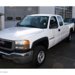 2006 Summit White Gmc Sierra 2500hd Work Truck Extended Cab 4x4 21245247 Gtcarlot Com Car Color Galleries