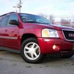2002 Magnetic Red Metallic Gmc Envoy Xl Slt 4x4 24693373 Gtcarlot Com Car Color Galleries