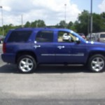 2010 Laser Blue Metallic Chevrolet Tahoe Ltz 4x4 30544158 Gtcarlot Com Car Color Galleries