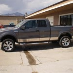 2004 Dark Shadow Grey Metallic Ford F150 Fx4 Supercab 4x4 32178618 Gtcarlot Com Car Color Galleries