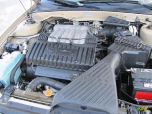 2001 Mitsubishi Diamante LS 35 Liter SOHC 24Valve V6