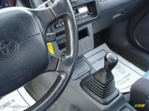 1996 Toyota RAV4 2 Door 5 Speed Manual Transmission Photo