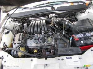 2002 Ford Taurus SES 30 Liter OHV 12Valve V6 Engine