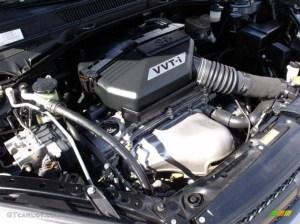 2004 Toyota RAV4 Standard RAV4 Model 24 Liter DOHC 16