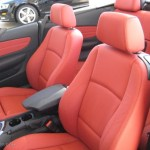 Coral Red Boston Leather Interior 2010 Bmw 1 Series 128i Convertible Photo 39088690 Gtcarlot Com