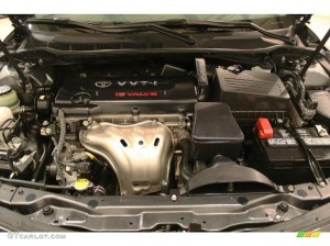 2009 Toyota Camry LE 24 Liter DOHC 16Valve VVTi 4