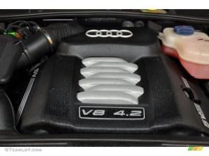 2000 Audi A6 42 quattro Sedan 42 Liter DOHC 40Valve V8