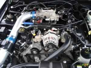 2002 Ford Mustang GT Coupe 46 Liter SOHC 16Valve V8