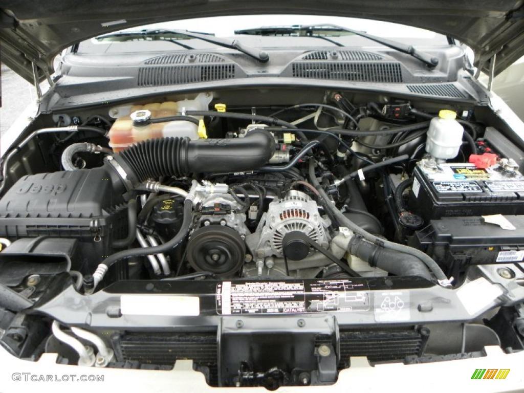 2005 Jeep Liberty Sport 3.7 Liter SOHC 12V Powertech V6