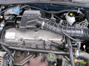 2002 Chevrolet Cavalier LS Sedan 22 Liter OHV 8Valve 4